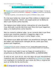 EL LENGUAJE TRI-DIMENSIONAL DEL SANTIFICADO..doc
