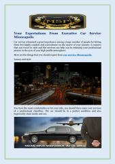 Your Expectations From Executive Car Service Minneapolis.pdf