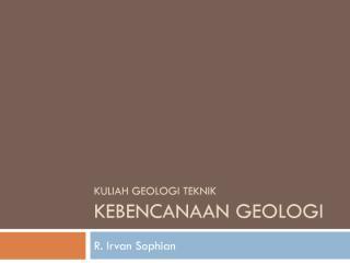 8 - Geologi Teknik Kebencanaan.pdf
