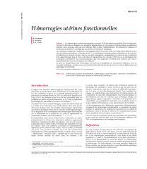 Hémorragies utérines fonctionnelles.pdf