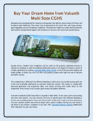 Buy Your Dream Home from Vakunth Multi State CGHS.pdf