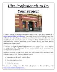 Hire Professionals to Do Your Project.pdf