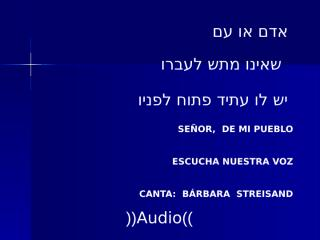 BarbaraStreisandBudapest(AUDIO).pps