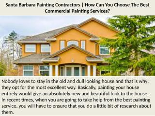 How Can You Choose The Best Commercial Painting Services.pptx
