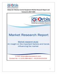 Global Air Pollution Control Equipment Market Research Report and Forecast to 2017-2021.pdf