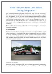 What To Expect From Lake Balboa Towing Companies.docx