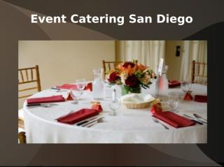 Event Catering San Diego.ppt