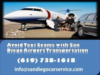 Avoid Taxi Scams with San Diego Airport Transportation.pdf