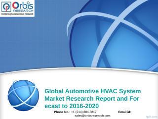 Global Automotive HVAC System Market.ppt
